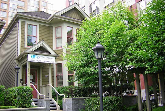 Vancouver Chiropractic and Sports Therapy Clinic located in Yaletown, downtown Vancouver