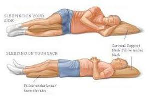 Sleep Positions offered by Vancouver Chiropractor