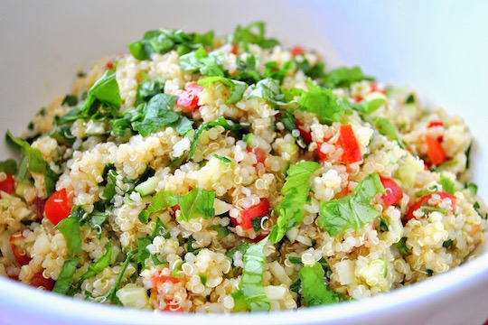 Quinoa and Tomato Salad Recipe Provided by Vancouver Chiropractor